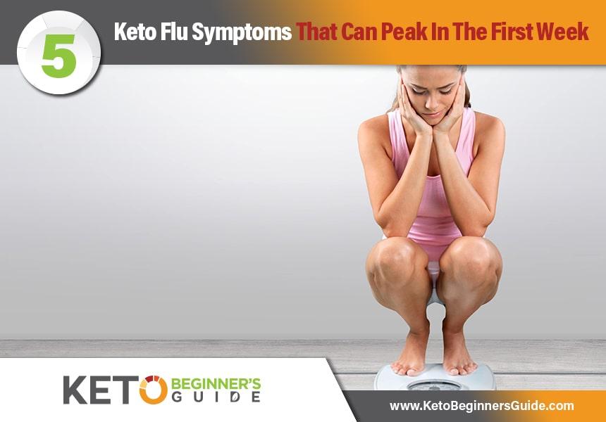Keto Beginners Guide | 5 Keto Flu Symptoms That Can Peak ...